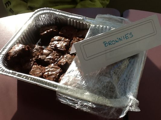Rose K's Brownies, modified from the back of a King Arthur Flour bag.