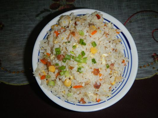 Lactose and Gluten Free Easy Fried Rice