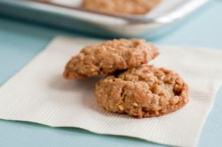 Angel Acres Super Easy Oatmeal Lace Cookies