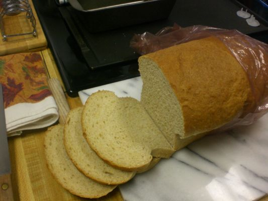 Self-milled-wheat Whole Wheat Bread