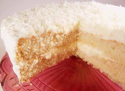 White on White Buttermilk Cake with Jack Daniels Buttercream