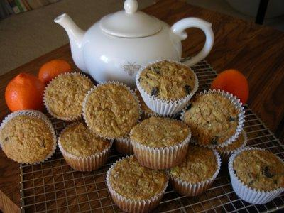 Oatmeal-Apple-Raisin Muffins