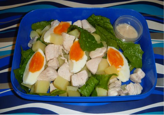 Chicken, Potato & Egg Salad