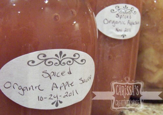 Spiced Applesauce in your slow cooker
