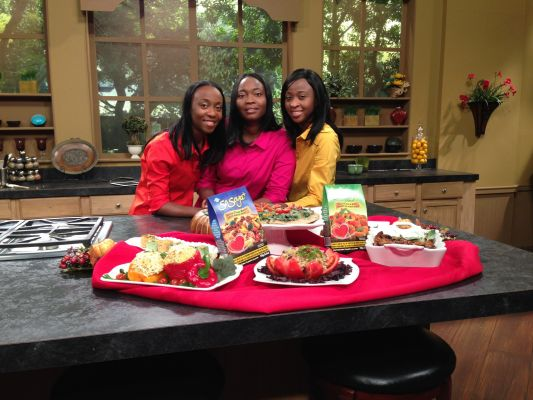 Cooking with THE HOLMES SISTERS Volume 1 As seen on 3ABN