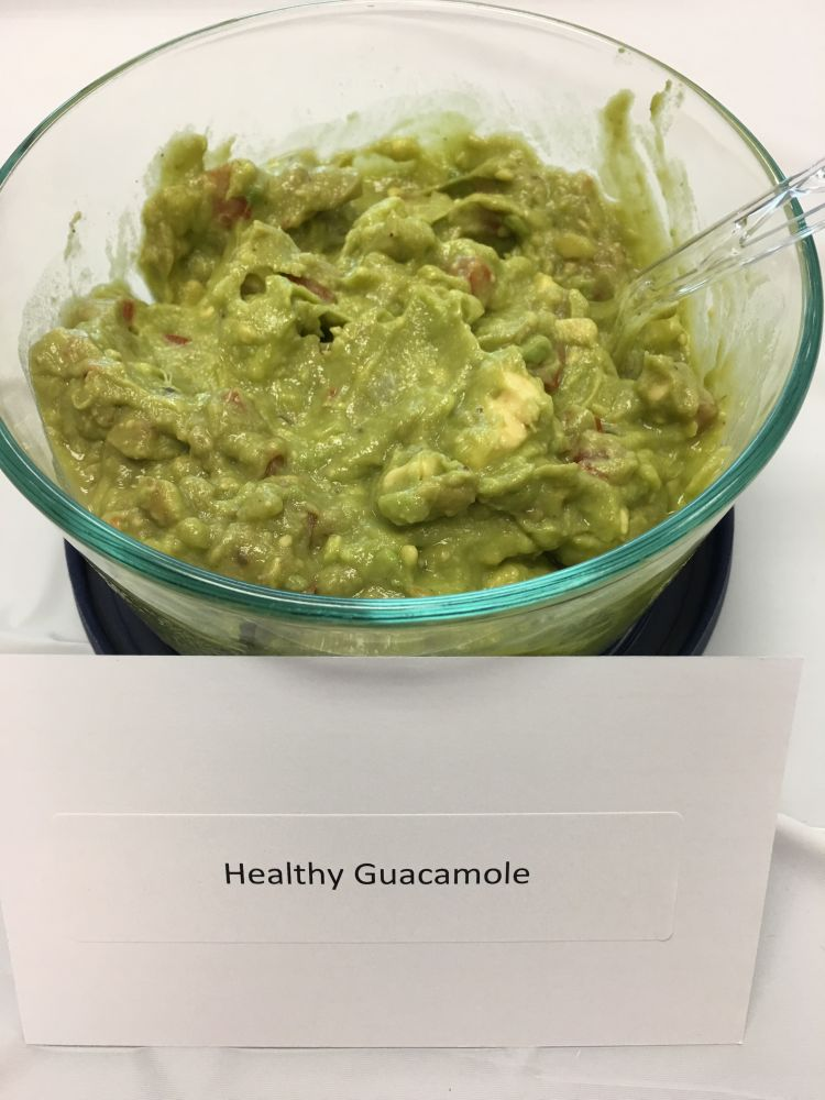 Healthy Guacamole. By Morgan Siegel