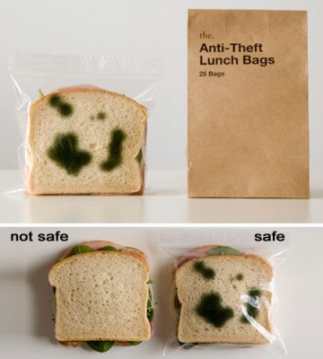 ANTI-THEFT LUNCH BAGS - http://www.perpetualkid.com/index.asp?PageAction=VIEWPROD&ProdID=3670&dc=bakespace