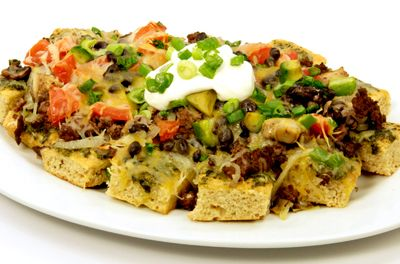 Super Beer Bread Nachos