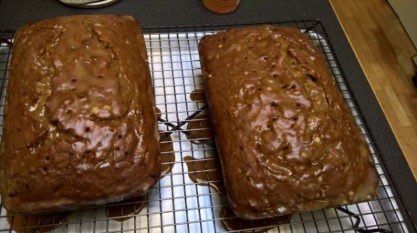 Kahlua Banana Bread