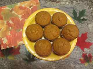 Old Salem Pumpkin Muffins