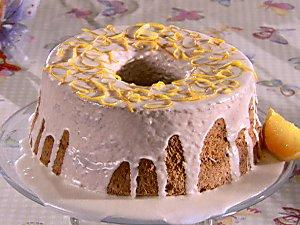 Coffee Angel Food Cake