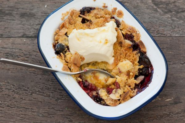 Fran's Fresh Fruit Cobbler