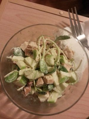 Sprouted Chicken Salad