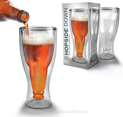 Hopside Down Beer Glass - http://www.perpetualkid.com/index.asp?PageAction=VIEWPROD&ProdID=3343&dc=bake