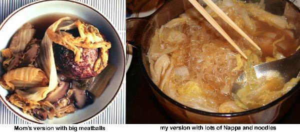 Lion's Head (Shi Tze Tow) Stew