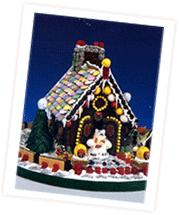 Necco Wafer Gingerbread House (From New England)