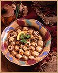 Sweet Hot Marinated Mushrooms