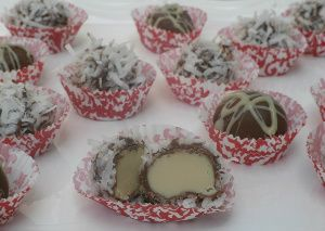Coconut Irish Cream Truffles