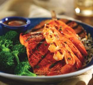 Red Lobster Maui Luau Shrimp & Salmon