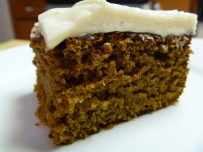 Sweet and Spicy Pumpkin Cake