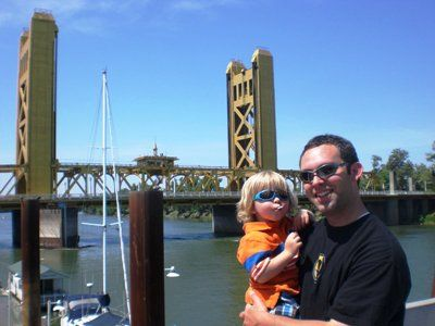 Me & Jr~Sactown Golden Gate Bridge