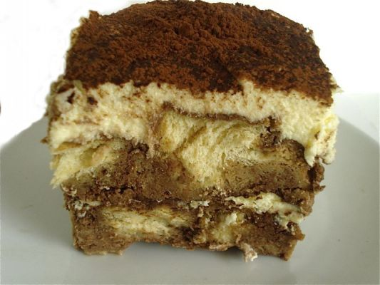 Chocolate Tiramisu Bread Pudding