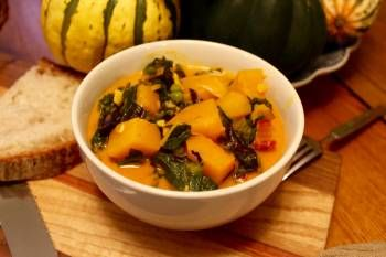 Kale & Squash Thai Curry