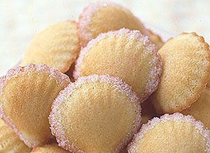 Rose-Water Madeleines