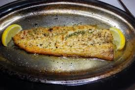 Broiled Speckled Trout