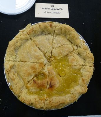 Shaker Lemon Pie by  Robin Sindelar