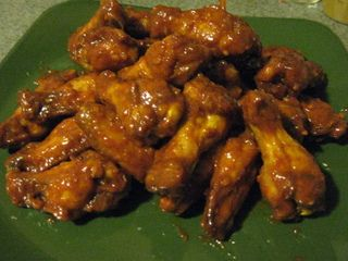 Hector's Honey Curry Wing Sauce