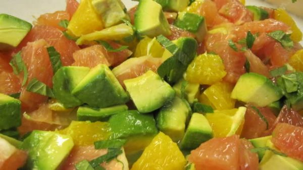 Citrus Avocado Salad Foods That Lower Cholesterol