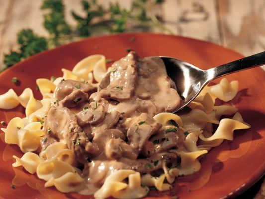 Dad's Most Favorite Beef Stroganoff