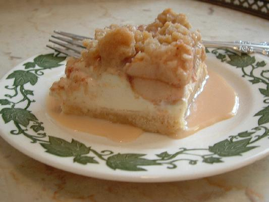 Apple Pear Cream Cheese Squares