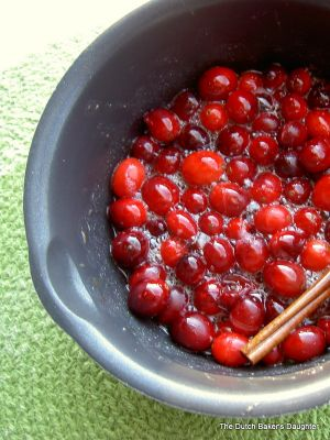 Cranberry-Maple Syrup