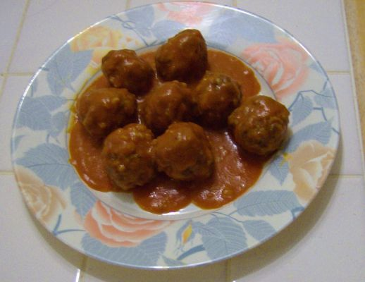 Porcupine meat balls (modified)