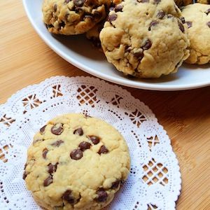 The Best Vegan Chocolate Chip Cookies Ever!