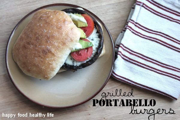 Grilled Portabello Burgers