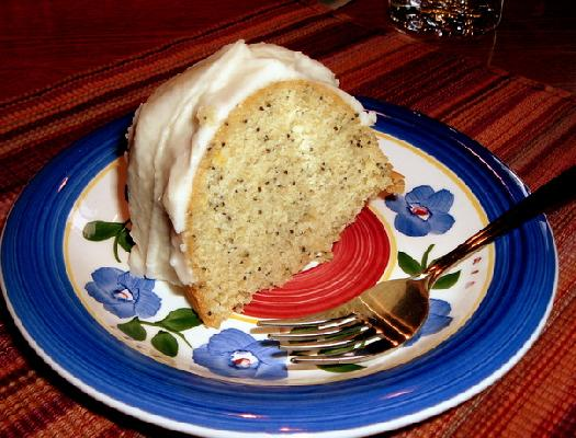 Lemon-poppyseed Bundt Cake