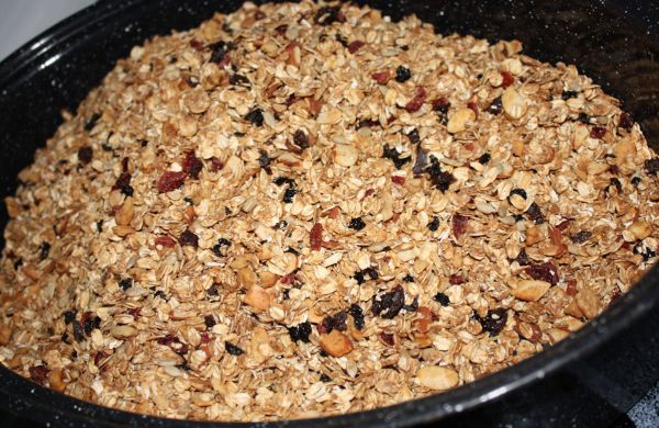 Super Healthy Granola (Updated)