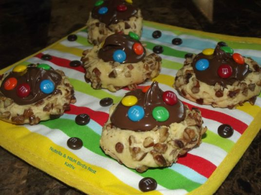 Nutella & M&M's Bird's Nest