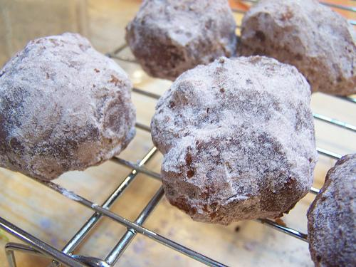 Chocolate Truffle Cookie Balls