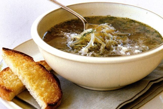 Zuppa povera (poor man's soup)
