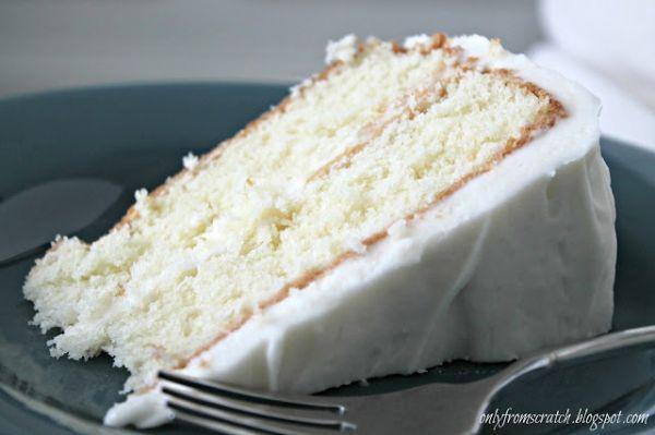 Simple Vanilla Layer Cake On Bakespace Com