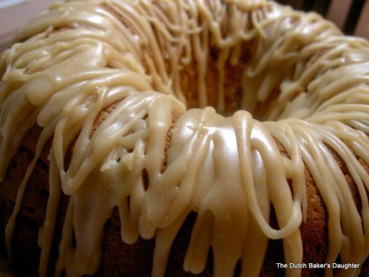 Zucchini Spice Cake With Penuche Frosting