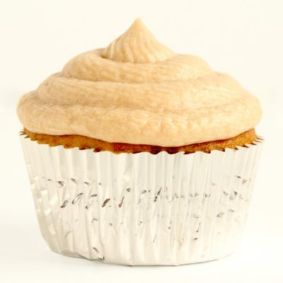Banana Butterscotch Cupcakes