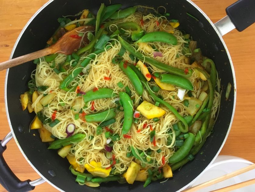Spicy Singapore Noodles