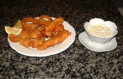 Oven Fried Shrimp With Homemade Tarter Sauce