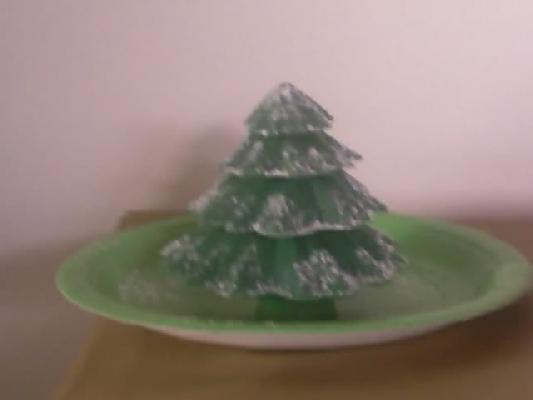 Vanilla Candy Christmas Tree