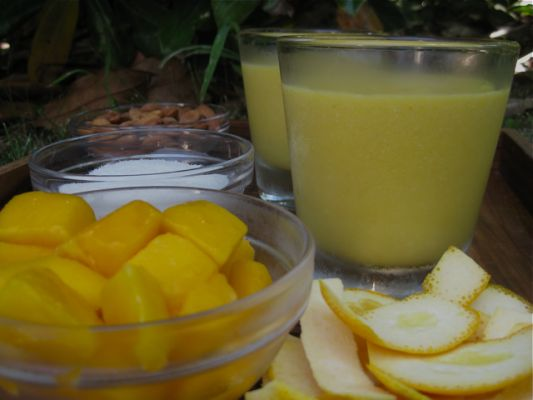 Mango Coconut Bliss Smoothie